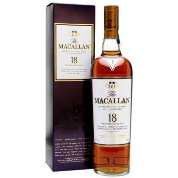 Macallan 18 Year Old Sherry Oak Single Malt Whisky 2017